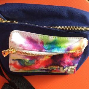 Disney Bags - Rainbow Mickey Mouse Disney Fanny Pack NWT